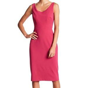 Betsey Johnson Women's Scoop Neck Pink dress sz 8